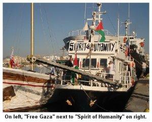 Free Gaza & Spirit of Humanity 06302009
